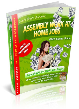 FREE Work At Home Assembly Jobs Starter Guide