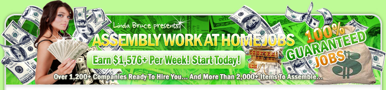 work at home assembly jobs earn 1 576 weekly free starter guide over 1 297 assembly. Black Bedroom Furniture Sets. Home Design Ideas